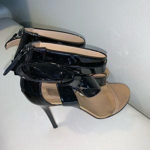 Valentino open toe patent leather Heels